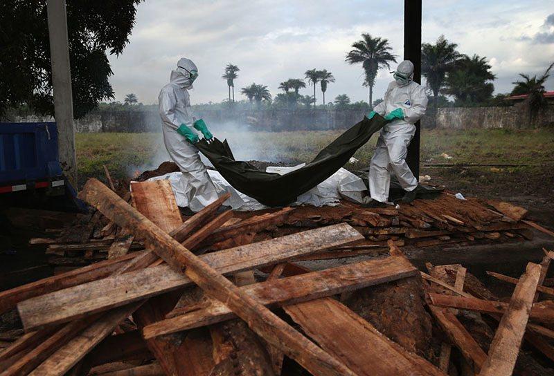 Ebola Prep Burning