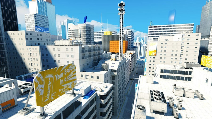 Mirrors Edge Tower