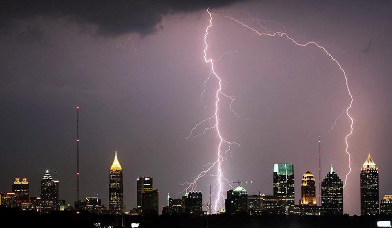 Lightning Strike Effects