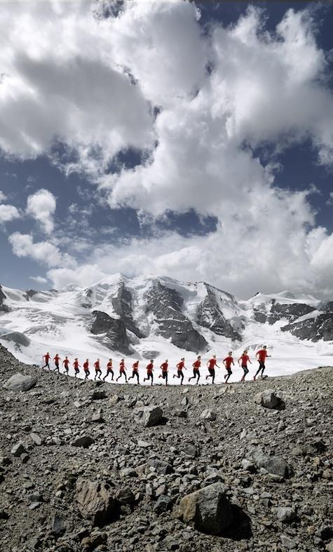 Running Through The Alps