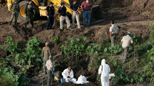 Mexico Disappeared Mass Grave