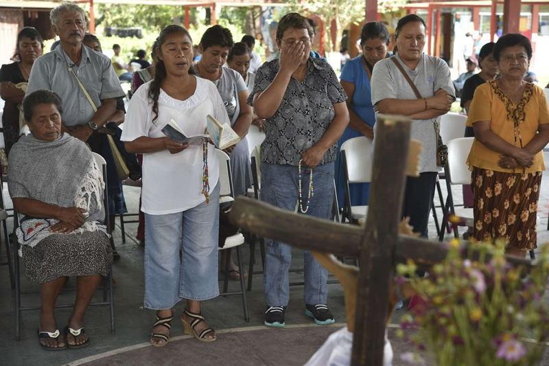Vigil For Mexican Cartel Victims