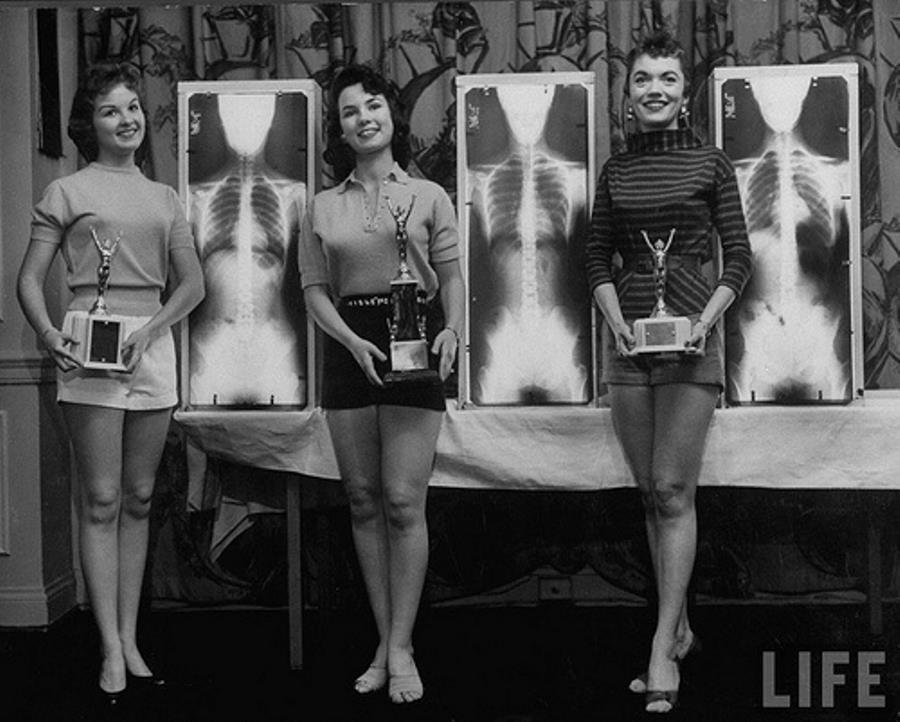 Miss Perfect Posture 1956
