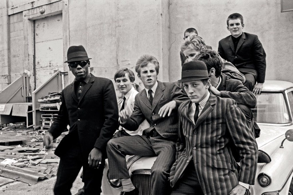Mods from film Quadrophenia