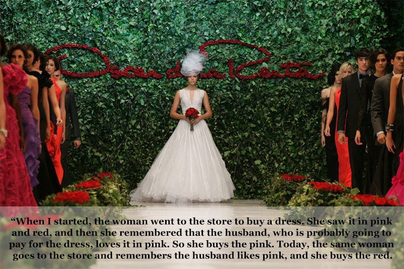 Oscar de la Renta on Fashion