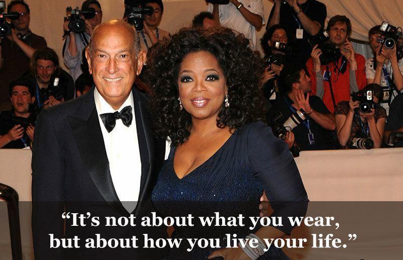 Oprah and Oscar de la Renta