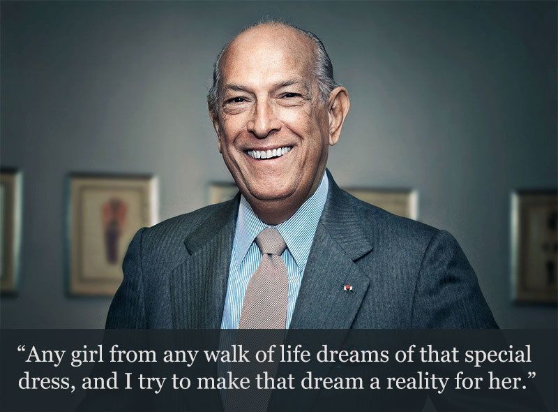 Oscar de la Renta on Women