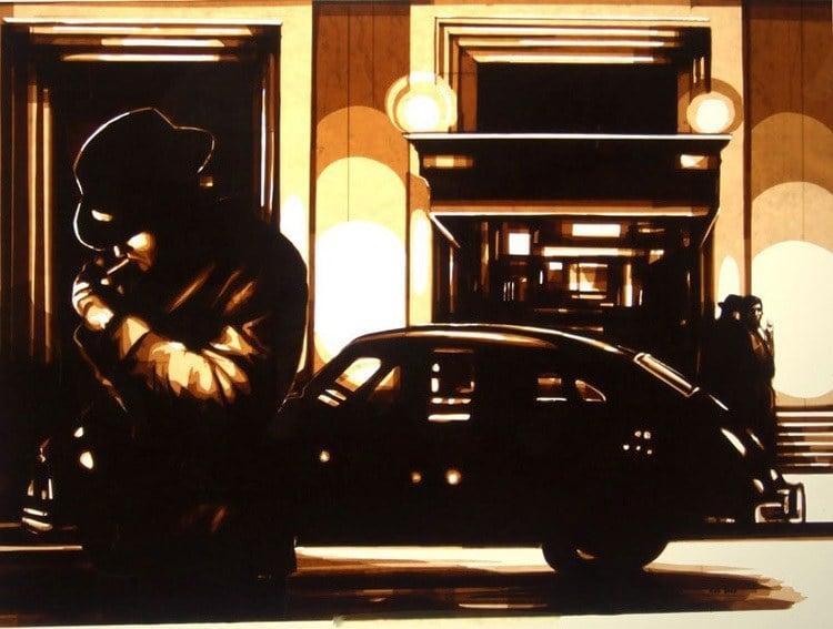 Max Zorn Smoking Pipe Street Art