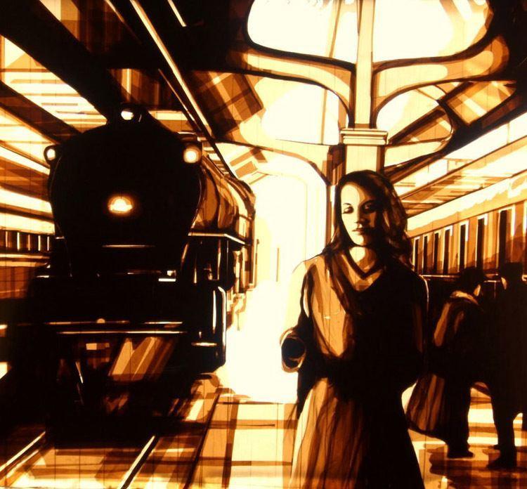 Train art Scene