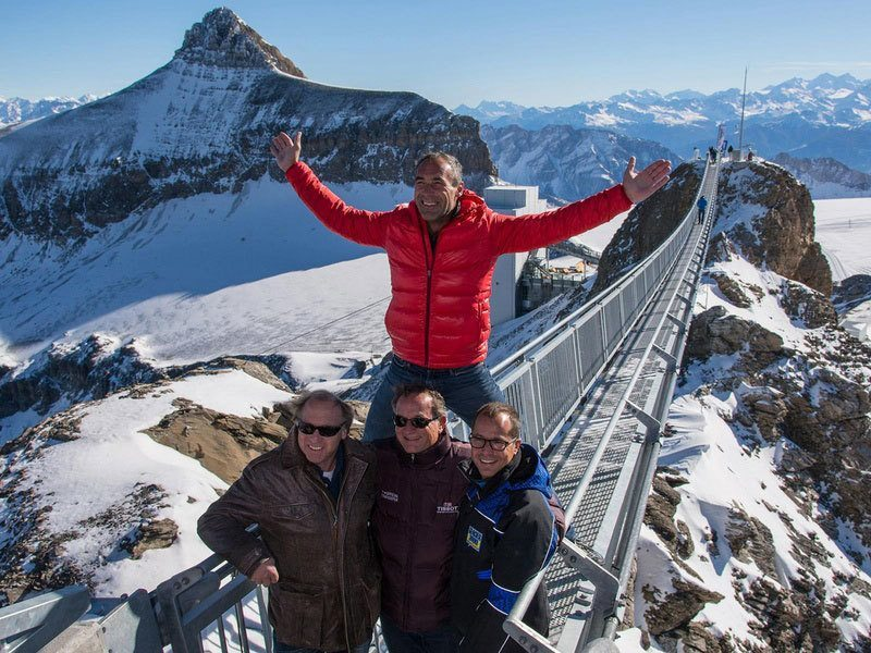 Glacier 3000 Suspension Bridge