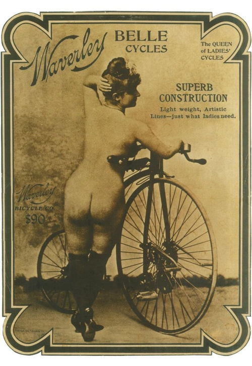 Bicycle History Woman