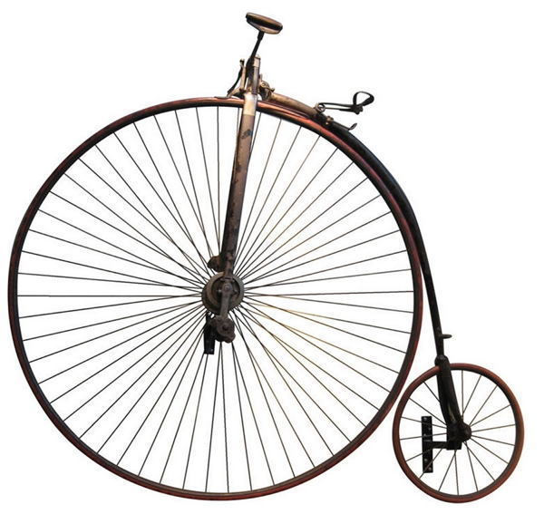 Bicycle History Penny Farthing