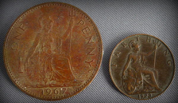 Penny Farthing Coins