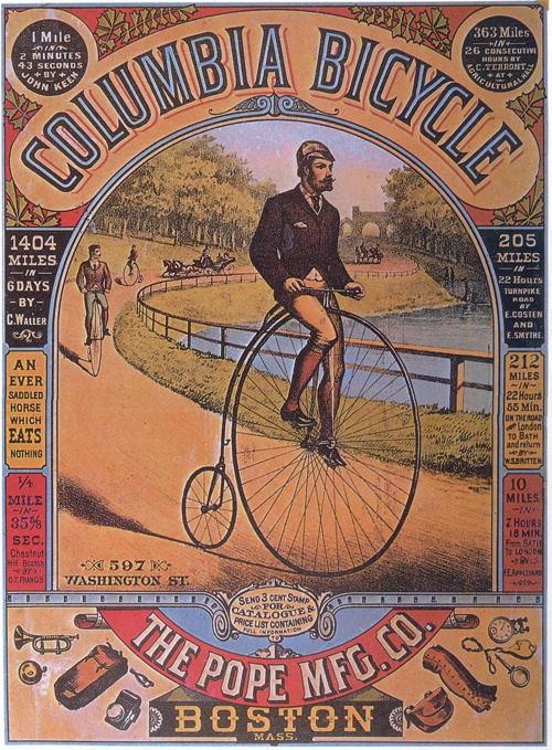 Bicycle History Columbia