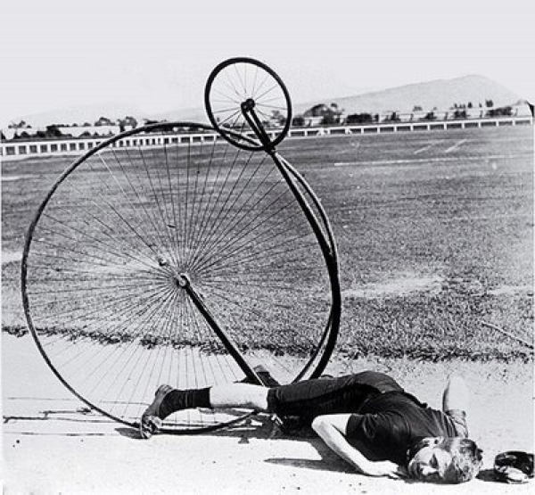 Bicycle History Crash