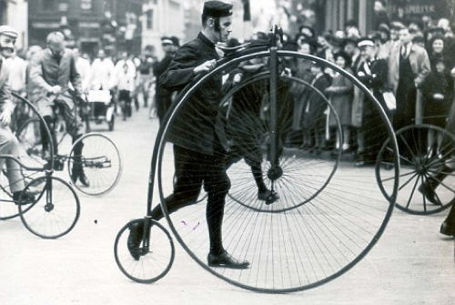 Bicycle History Wheel