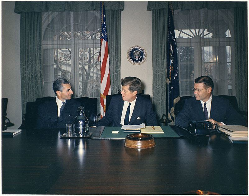 Shah Of Iran And JFK