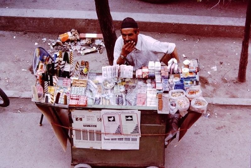 Street Vendor Iran