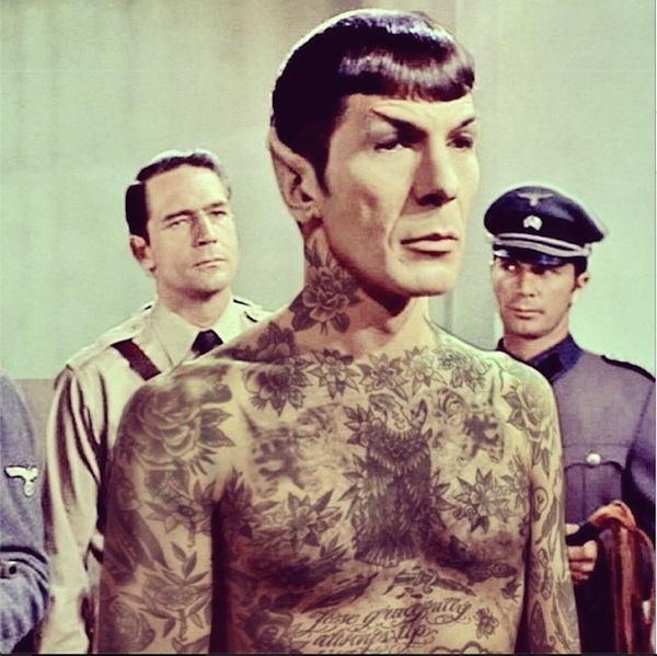 Spock Tattoos