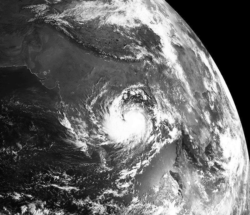 Storm Satellite Images Hudhud