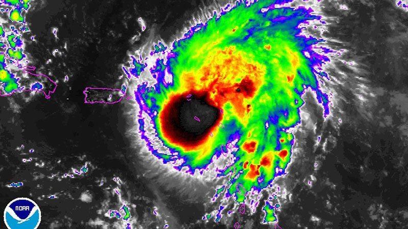 Storm Satellite Images Hurricane Gonzalo