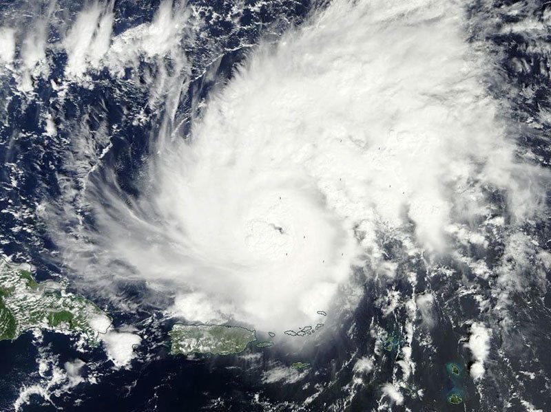 Hurrican Gonzalo Satellite Images