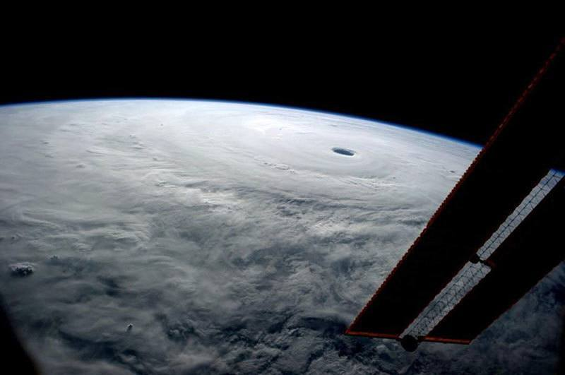 Super Typhoon Vongfong from Space