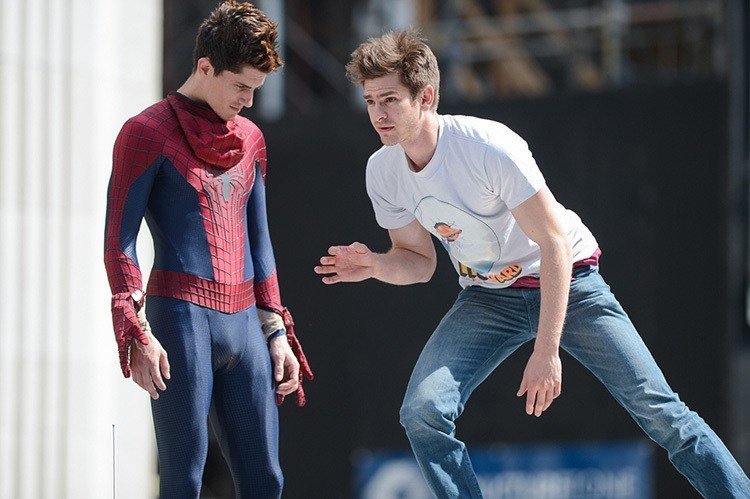 Andrew Garfield Double
