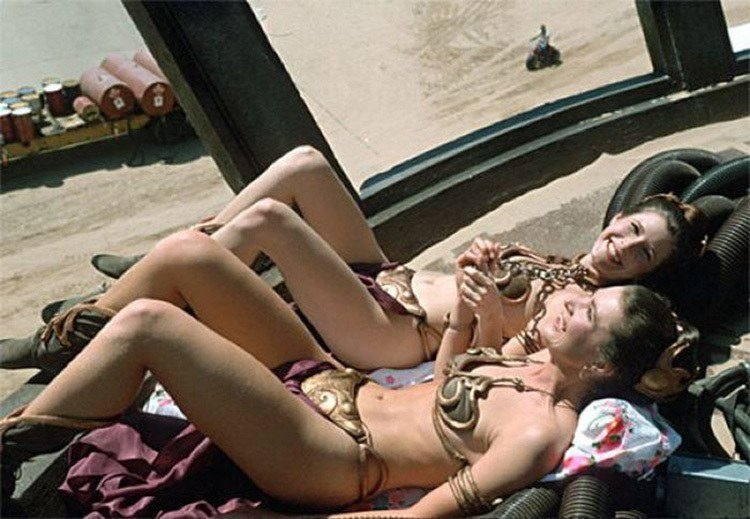 Carrie Fisher Double
