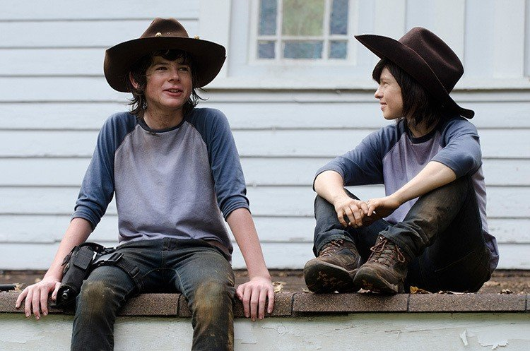 Chandler Riggs Double