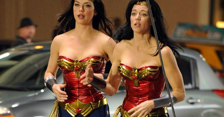 Stunt Doubles Wonder Woman
