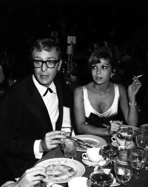 Michael Caine And Nancy Sinatra