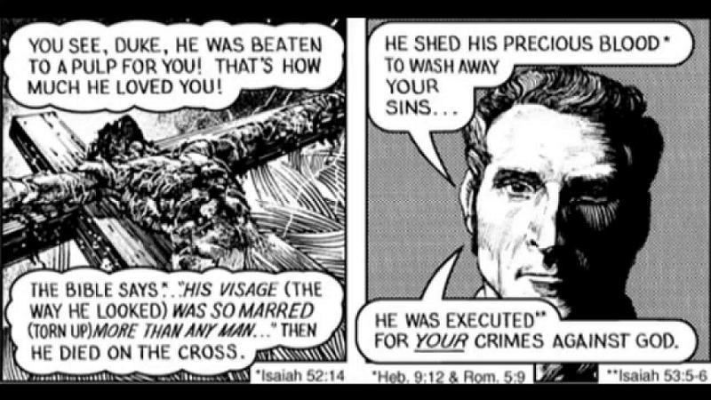 Jesus Perspectives Chick Tract
