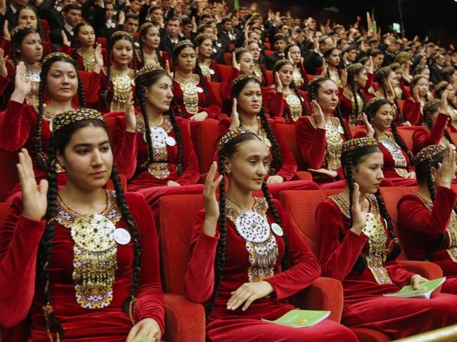 Turkmenistan Council Delegates