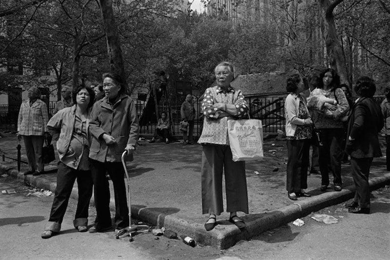 1980s Chinatown Corner Woman