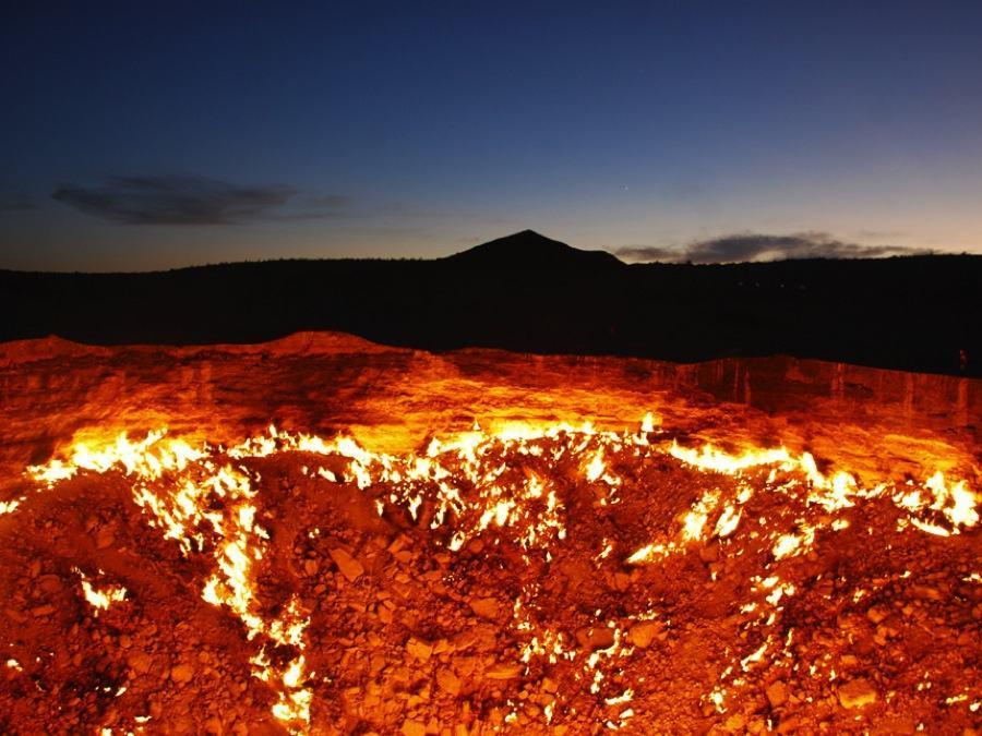 Turkmenistan Door Hell