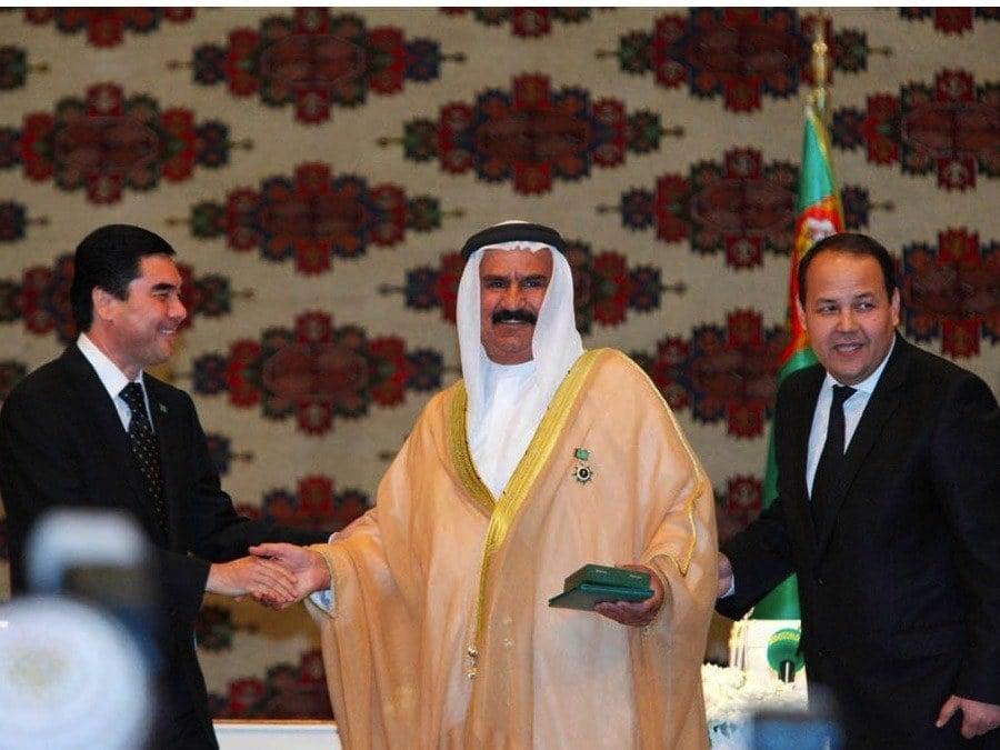 Turkmenistan Award UAE