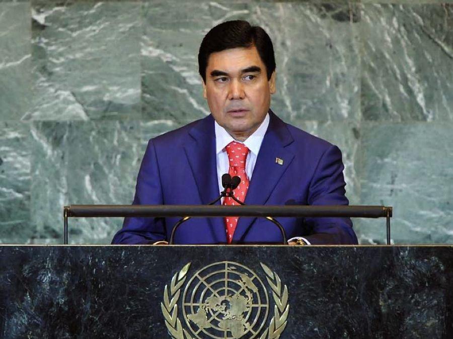 Turkmenistan Berymukhamedov UN