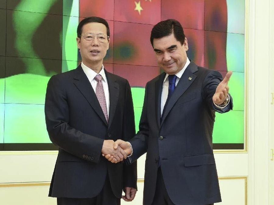Turkmenistan Zhang Gaoli