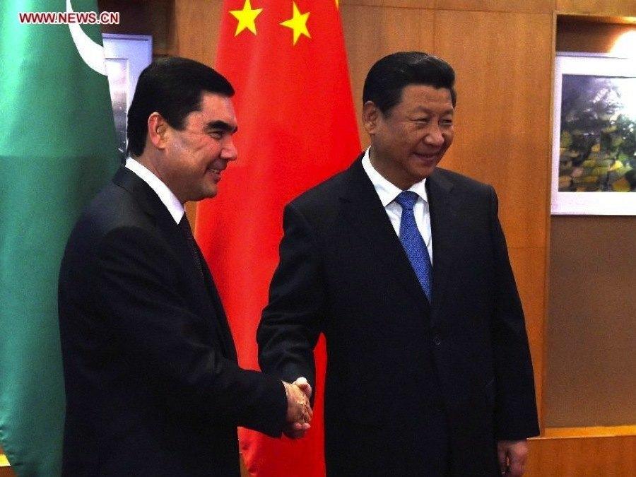 Turkmenistan Xi Jinping