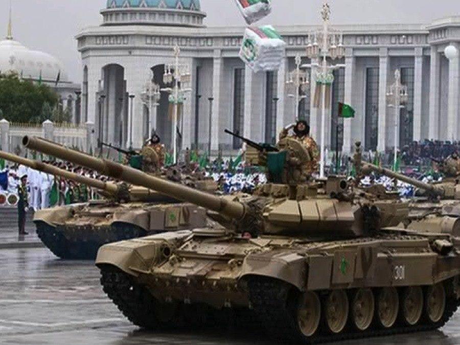 Turkmenistan Tank Parade
