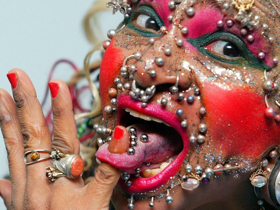 Extreme Body Modification Piercing