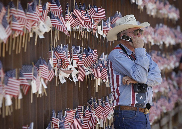 US-Mexico Border Walker Rancher