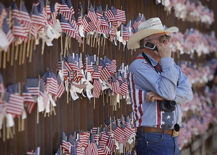 US-Mexico Border Walker Rancher