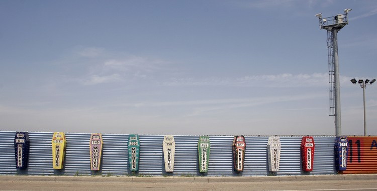 US-Mexico Border Death Monument