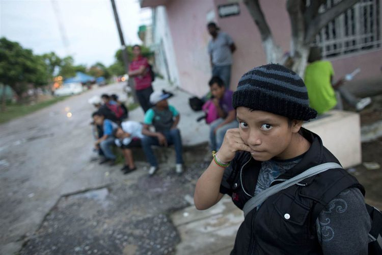 US-Mexico Border Guatemala Girl