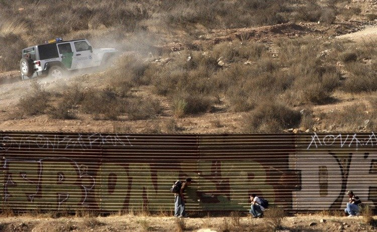 US-Mexico Border Hiding Immigrants