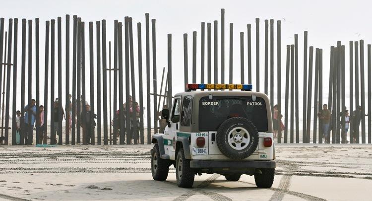 US-Mexico Border Patrol Jeep