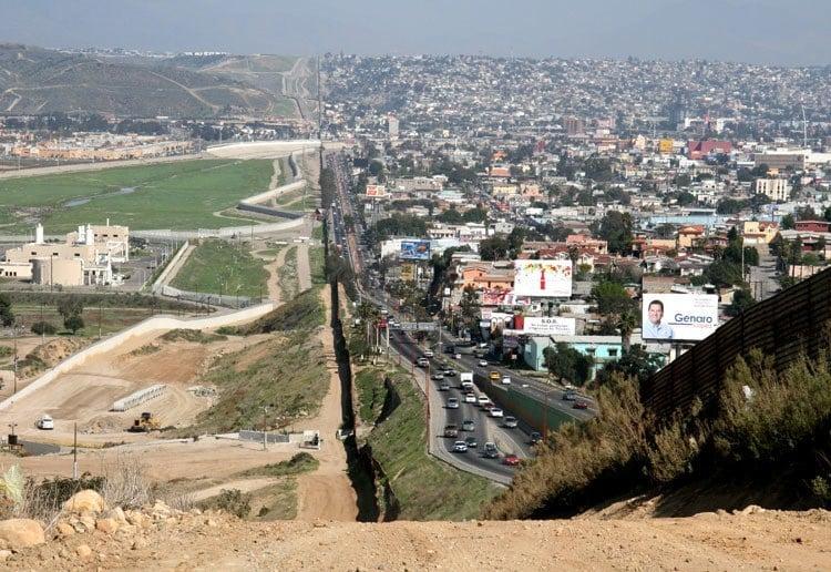 US-Mexico Border San Diego Tijuana