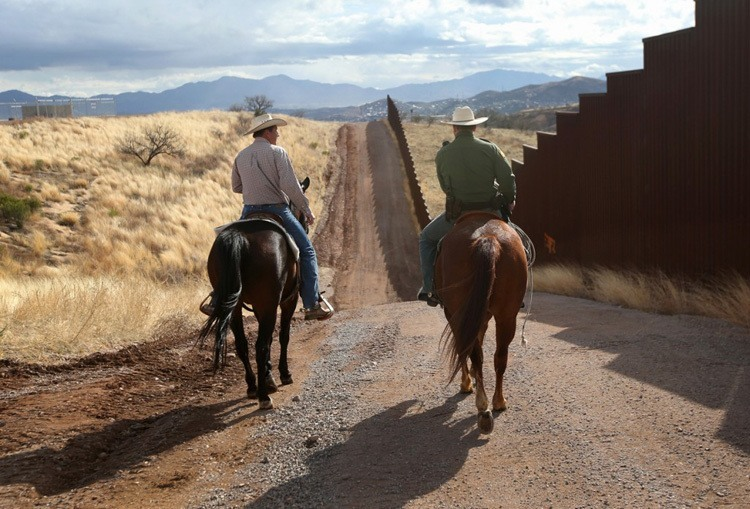 US-Mexico Border Rancher Ride